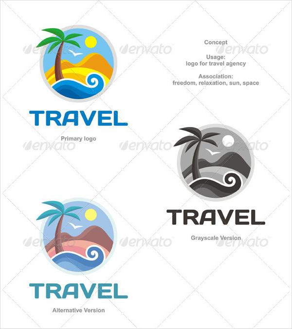 Travel Lodge Logo Design