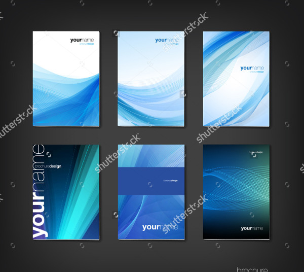 Booklet Cover Design Template