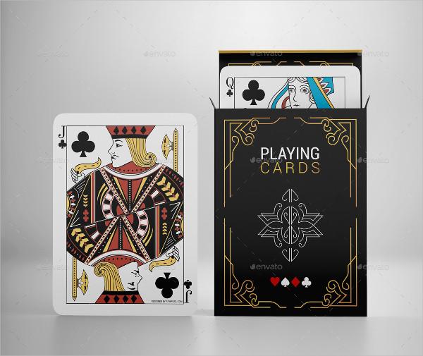 Branding Playing Card Mockups