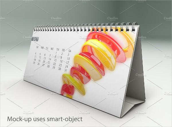 Calendar Advertising Mock-Up