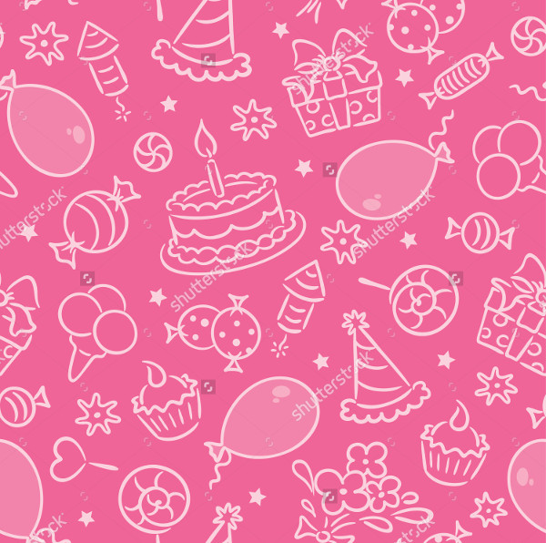 Unique Birthday Pattern Set