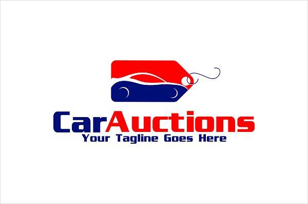 Car Auctions Logo Designs