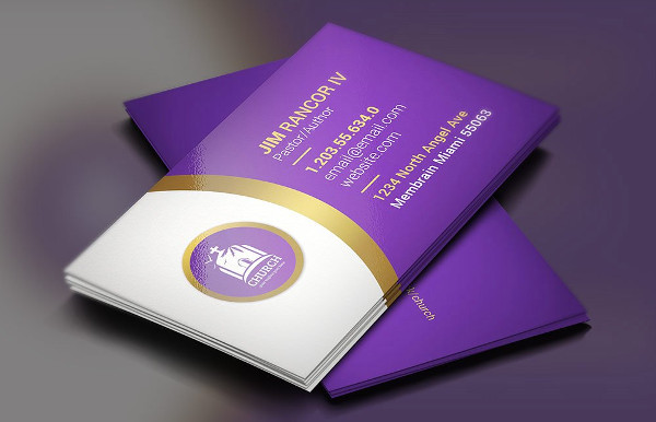 Levender Church Business Cards