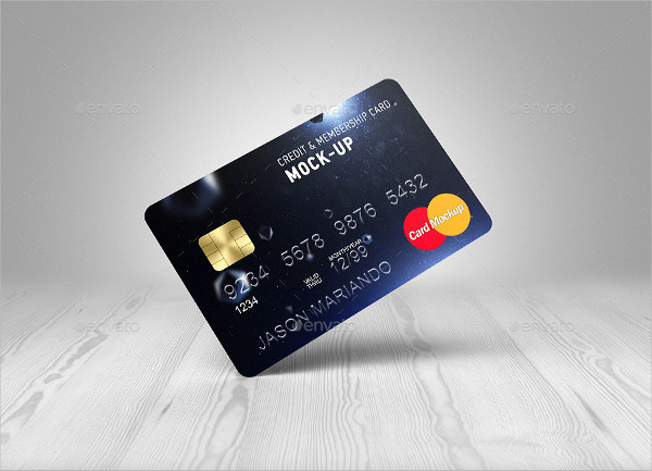 Credit & Membership Card Mockup