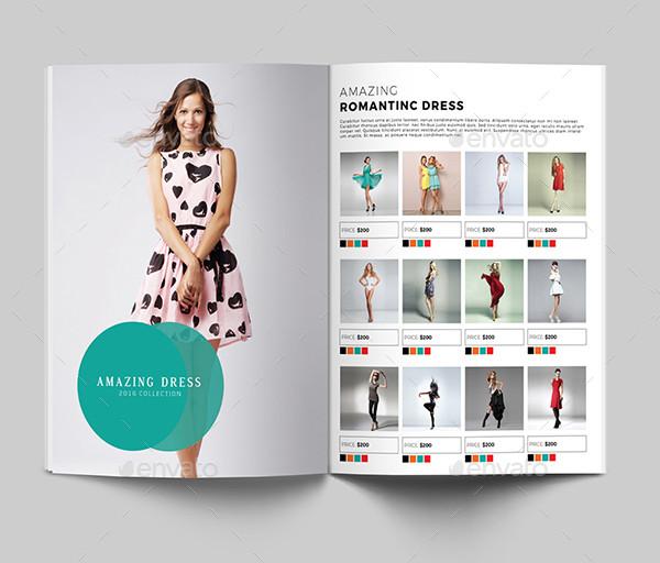 Fashion Product Display Catalog Templates