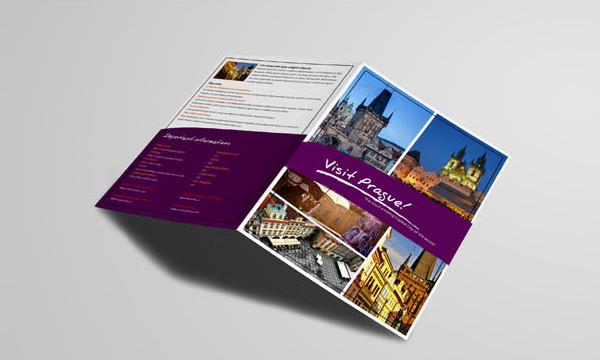 Best Tourism Bi-Fold Brochure Design