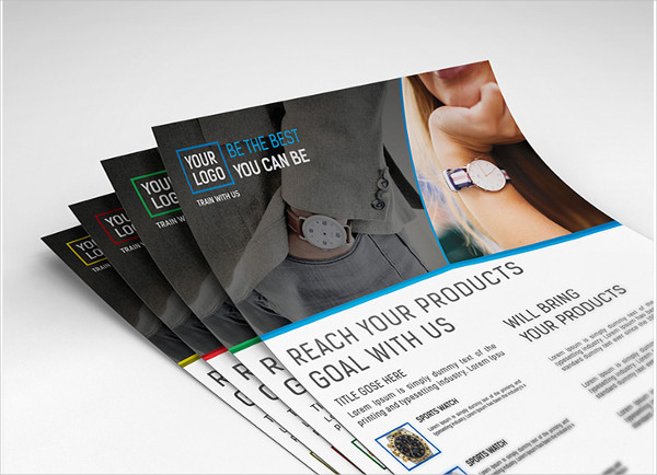 Clean Product Marketing Flyer Design