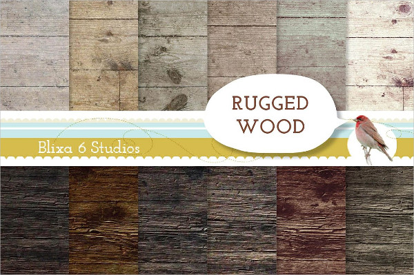Rugged Wood Texture