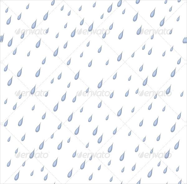 Seamless Rain Background