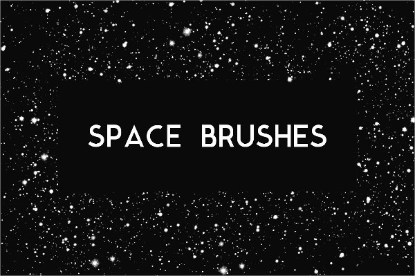 Space & Star Photoshop Brushes