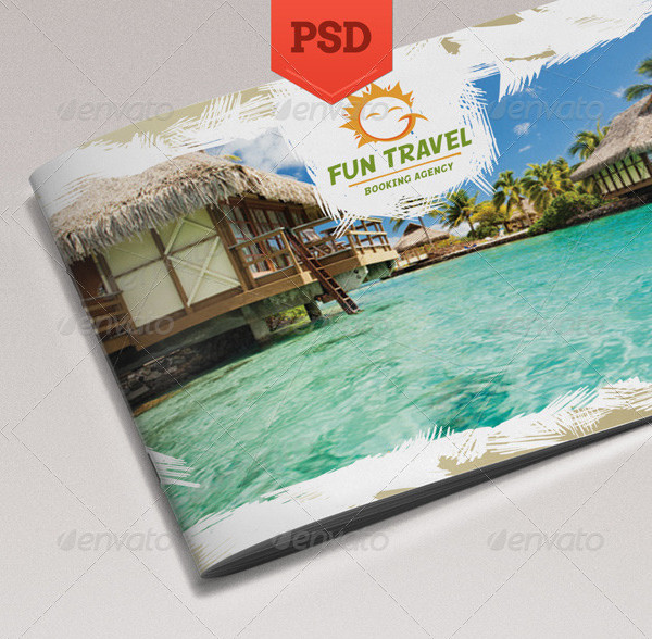 Fun Travel Booking Service Brochure