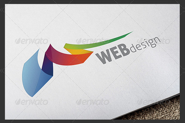 Colorful Web Design Logo Templates