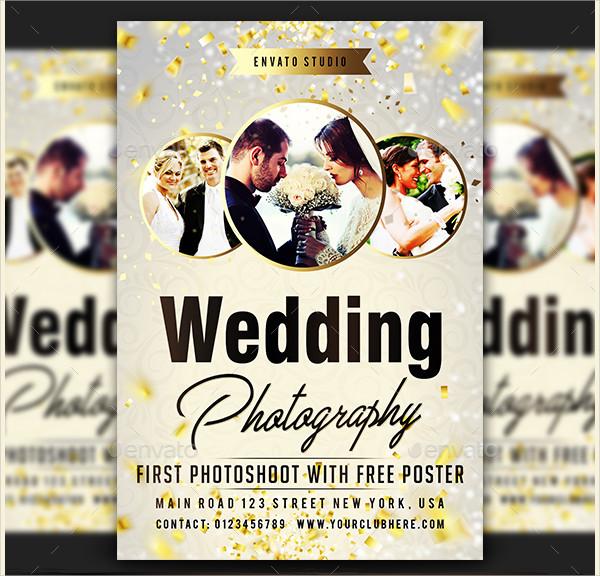 Wedding Photography Marketing Flyer