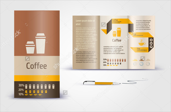 Abstract Coffee Brochure Template