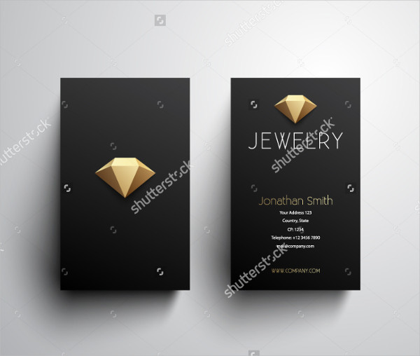 Jewelry Maker Business Card Design