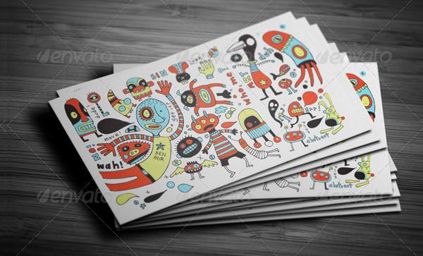 Multimedia Artist Business Cards