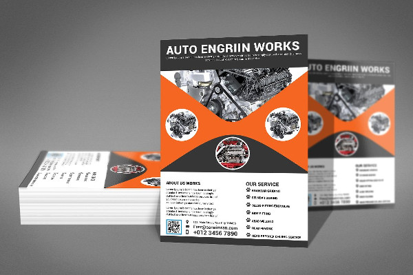 Best Auto Works Flyer Template