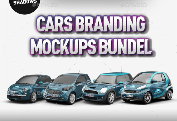 Big Car Mockups Bundle