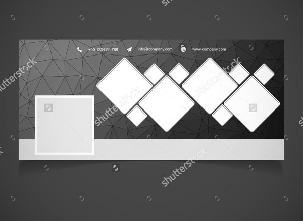 Black Photography Banner Background