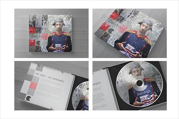 CD Case & Disc Mock-Up