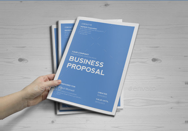 Clean Business Proposal for Multipurpose Use