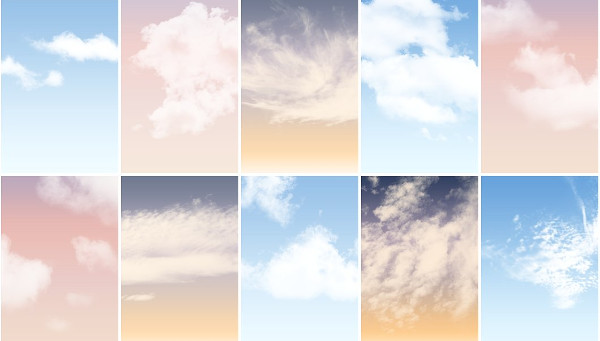Cloud Brushes & Sky Actions