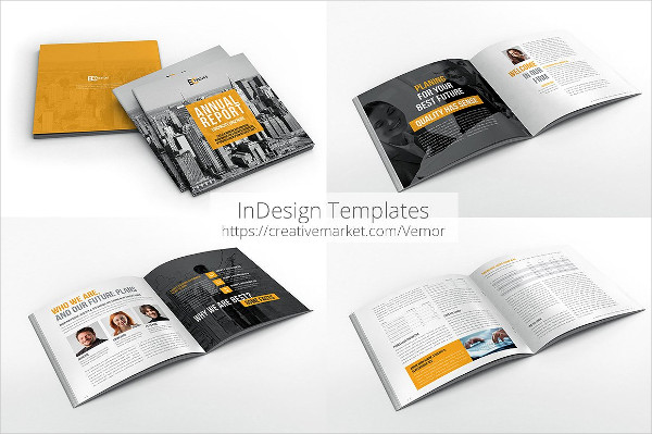Corporate Annual Report Brochure