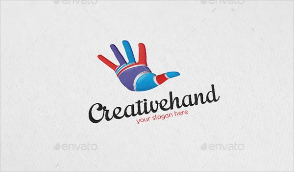 Creative Hand Logo Template