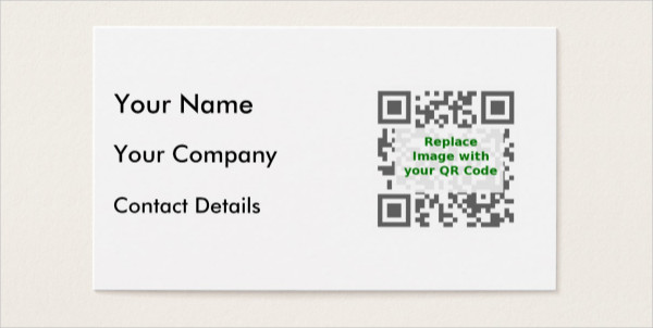 Editable Mobile Phone Business Card