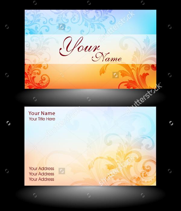 Editable Designer Business Cards Template