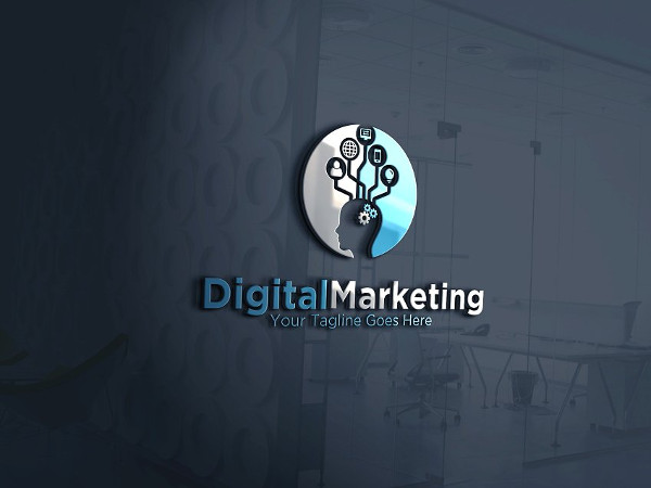 Best Digital Marketing Logo Template