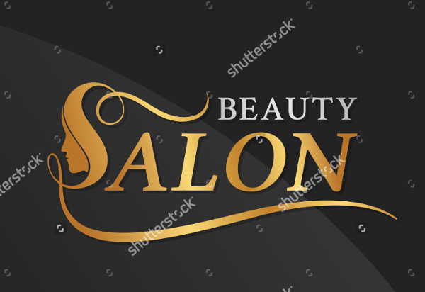Beauty Salon Vector Illustration Logo