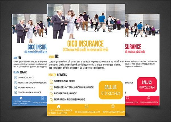 Perfect Flyer Template for Insurance Companies