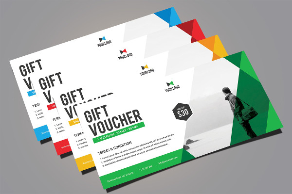 Printable Gift Voucher Design