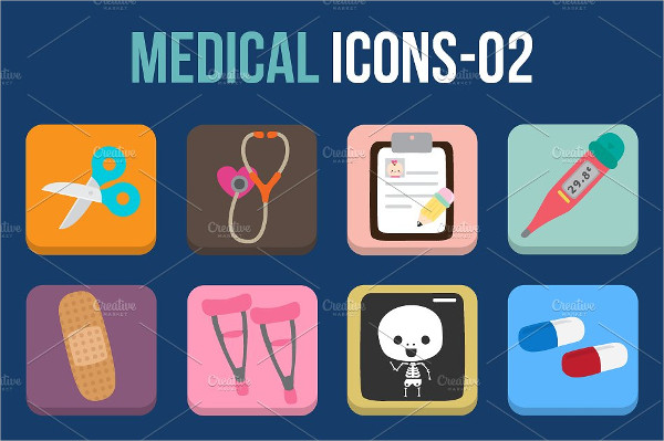 Perfect Icons for Health Care