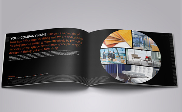 Corporate Interior Design Brochure