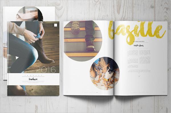 Interior Design Product Brochure Template