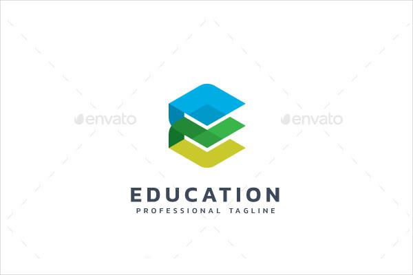 Modern Education Logo Template