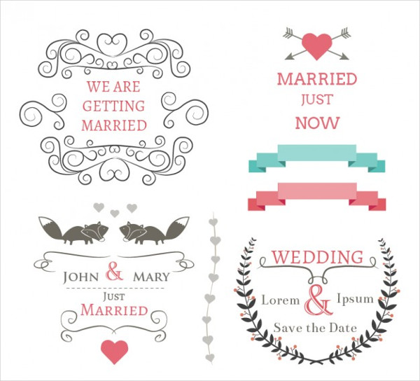 Personalized Wedding Banners Set Free Download