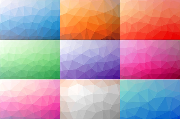 Polygon Backgrounds in Vector