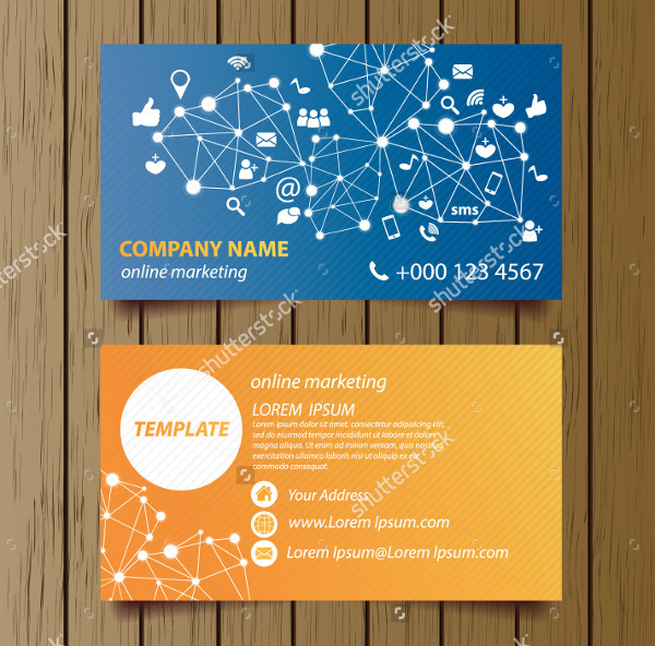 Best Social Media Marketing Business Card