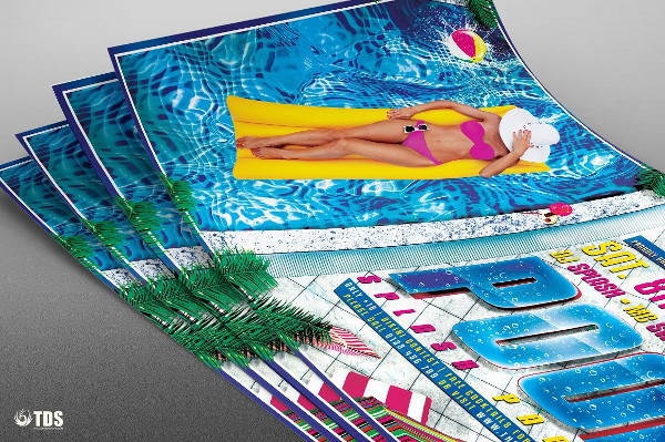 Perfect Pool Splash Party Flyer Template