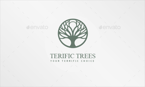 Terrific Trees Logo Template