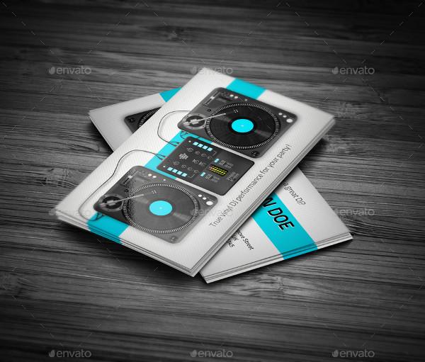 Best DJ Business Card Design