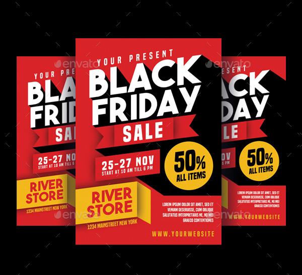 Unique Black Friday Sale Flyer