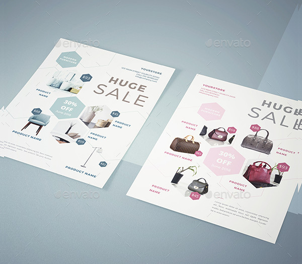 Unique Interior Products Flyer Template