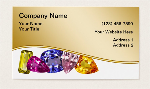 Vintage Jewelry Business Cards Ideas