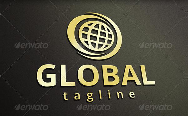 Eco Global Marketing Logo Template