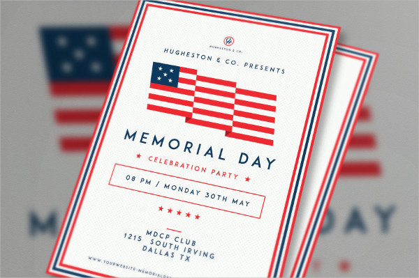 Labor Day & Memorial Day Flyers