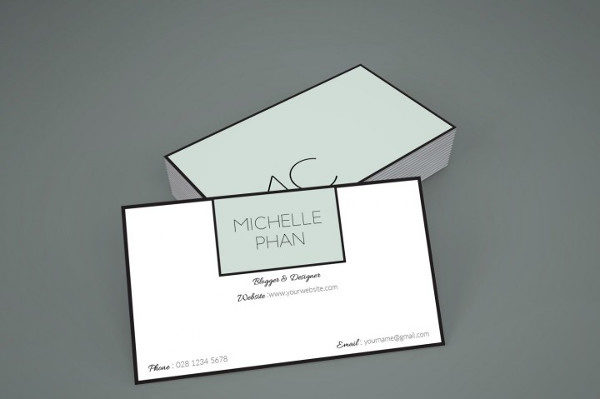 Chic Business Card Template
